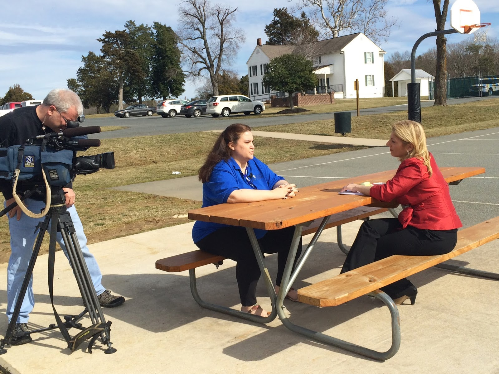 Interview with WRIC-TV in Virginia