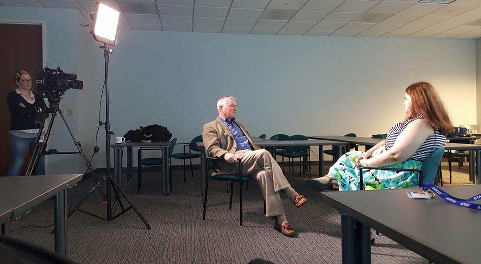 Interview at WSB-TV Atlanta, GA
